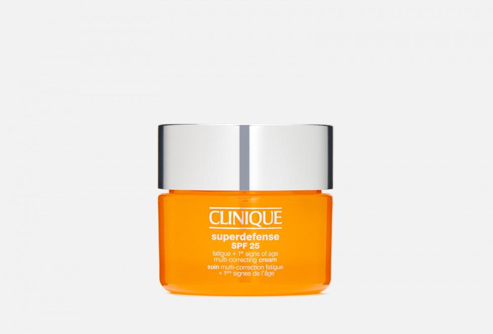 Купить Корректирующий крем против следов усталости на лице и первых признаков старения кожи - для жирной и комбинированной, CLINIQUE