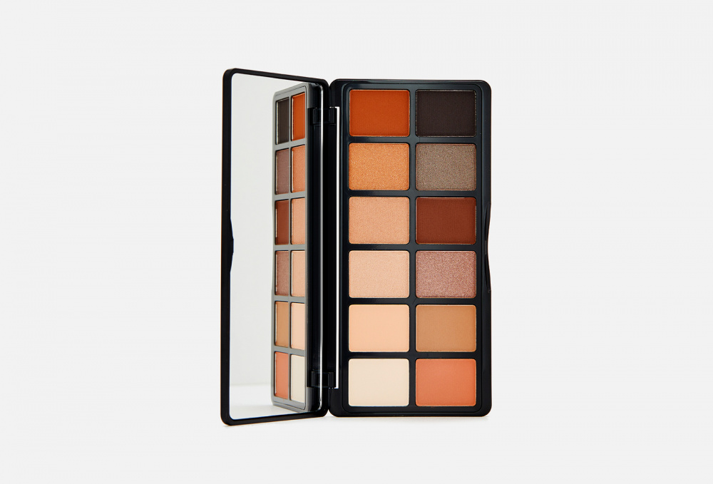 Палетка теней для глаз L.A. GIRL Fanatic Eyeshadow Palette 12 мл тени для век матовые eyeshadow matt 0 8г 524 dark grey mocha