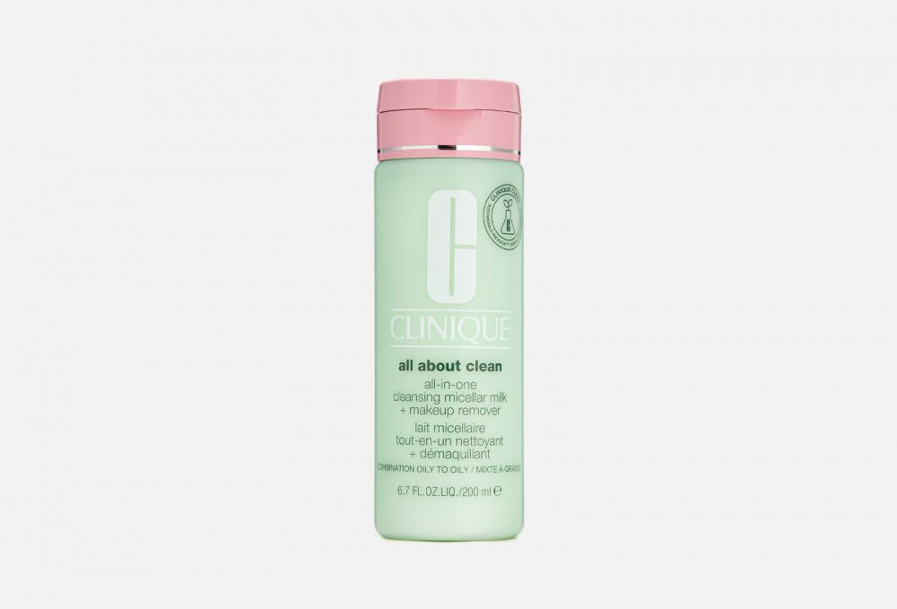 Молочко для снятия стойкого макияжа CLINIQUE All-in-one Cleansing Micellar Milk + Mur St 3 & 4 200 мл excellance moscow gentle cleansing milk молочко для снятия макияжа