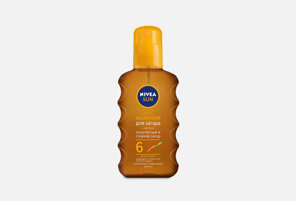 Масло-спрей для загара spf 6