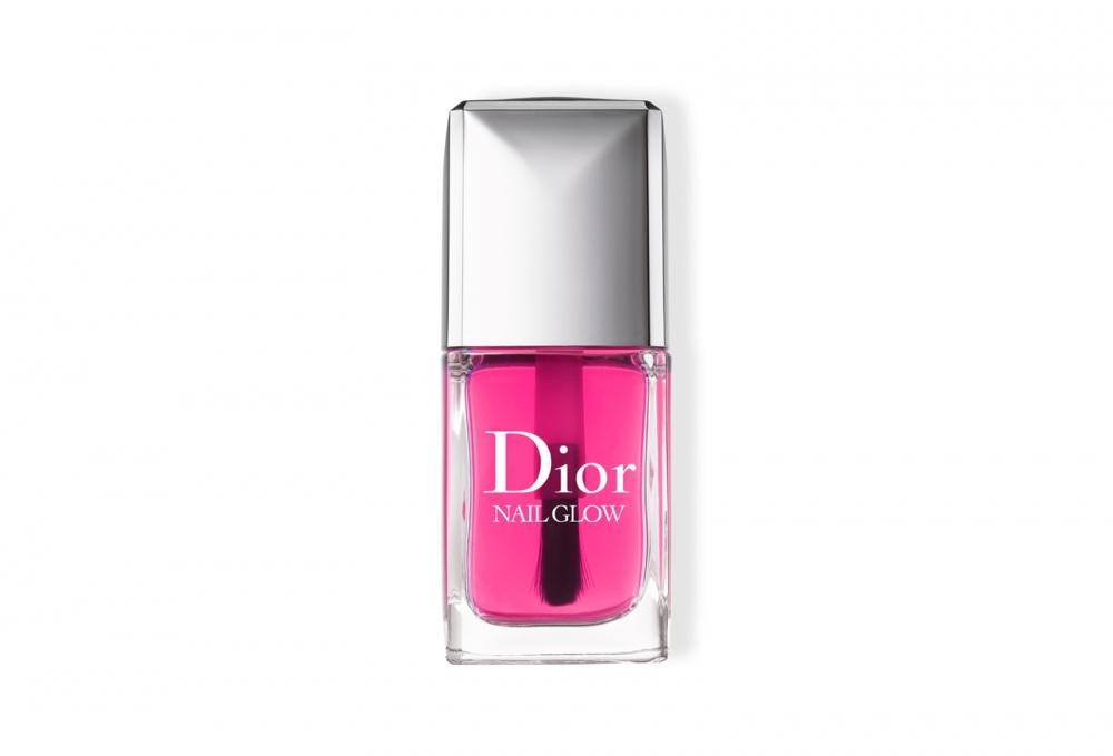 Лак для ногтей с эффектом французского маникюра DIOR Nail Glow 10 мл ухаживающее тональное средство с эффектом сияния dior diorskin forever glow 30 мл