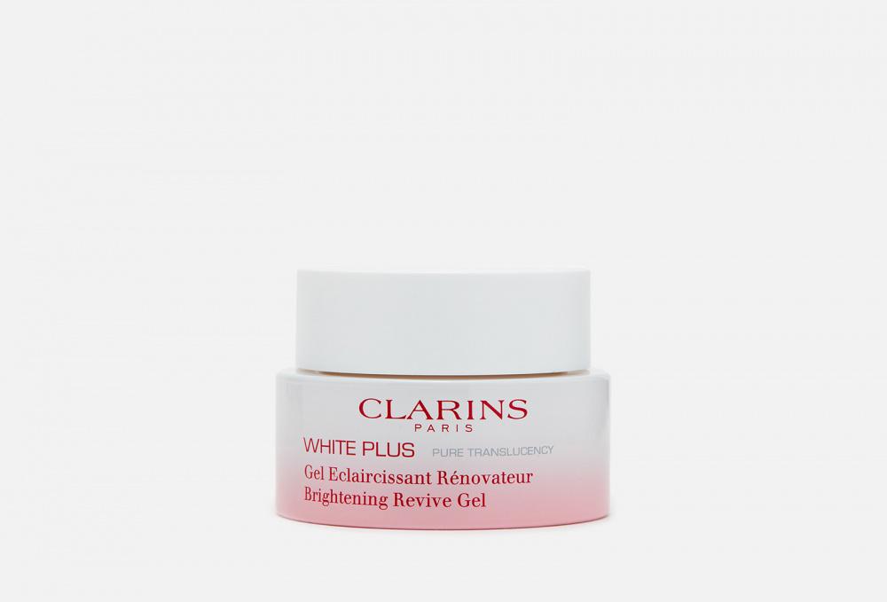 Обновляющая ночная гель-маска, осветляющая тон кожи CLARINS White Plus 50 мл