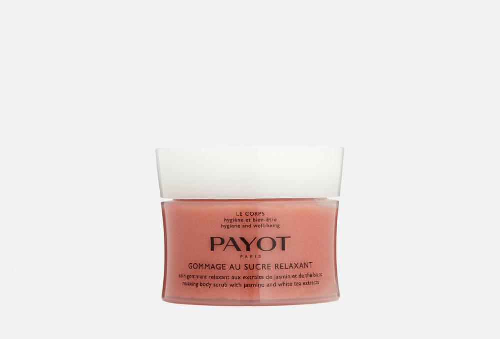 Скраб для тела с экстрактами жасмина и белого чая PAYOT Gommage Au Sucre Relaxant 200 мл payot gommage intense fraicheur