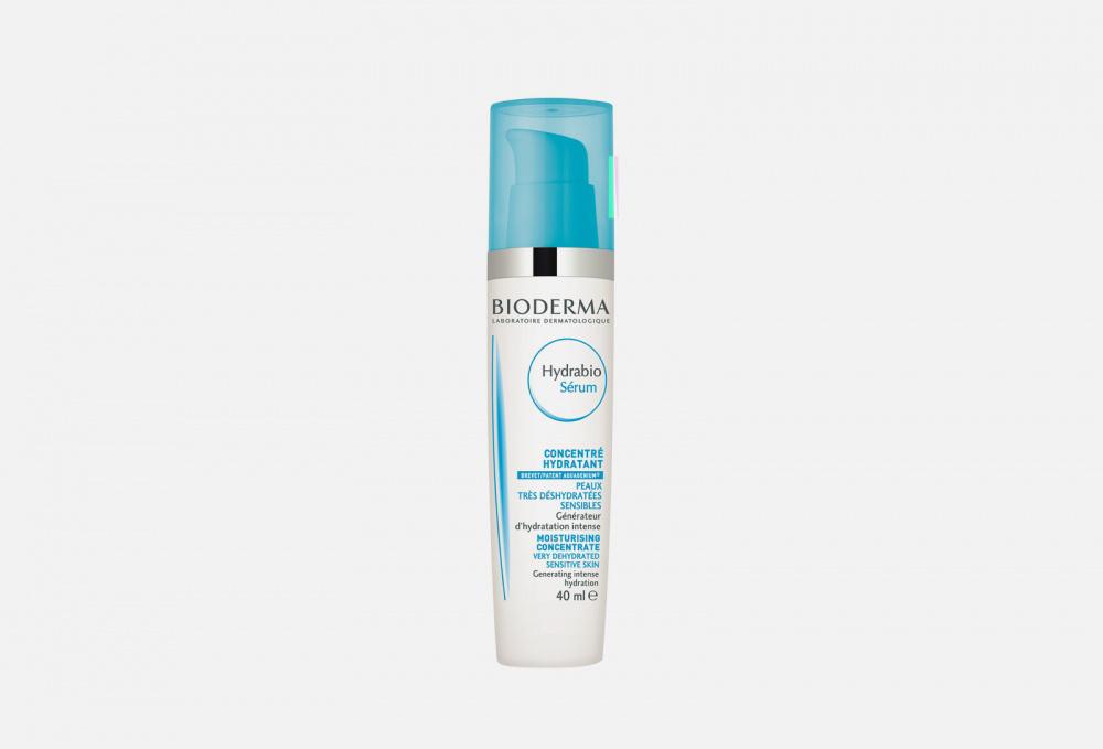 Сыворотка для обезвоженной и чувствительной кожи BIODERMA Hydrabio Moisturising Concentrate 40 мл очищающее молочко bioderma hydrabio moisturising cleansing milk 250 мл