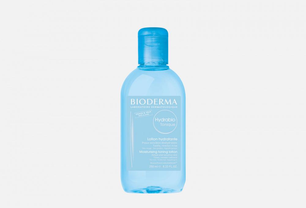 Тонизирующий увлажняющий лосьон BIODERMA Hydrabio Moisturising Toning Lotion 250 мл очищающее молочко bioderma hydrabio moisturising cleansing milk 250 мл