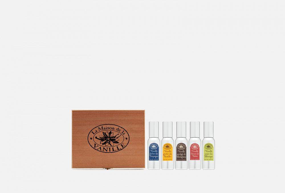 Подарочный набор 5х30мл LA MAISON DE LA VANILLE Coffret Contenant Gift Box