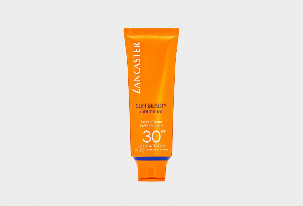 Солнцезащитный крем для лица spf30 LANCASTER Sun Beauty Sublime Tan 50 мл lancaster after sun tan maximizer увлажняющий крем после загара 125 мл