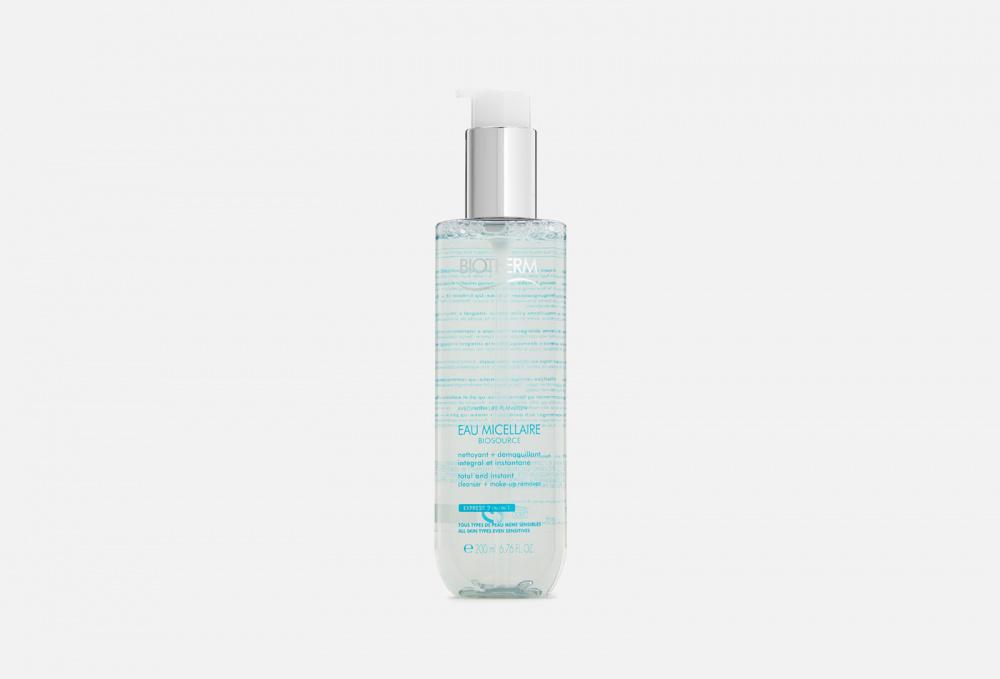 Фото - Мицеллярная вода для снятия макияжа c лица и глаз BIOTHERM Biosource 200 мл biotherm biosource тонизирующий лосьон для нормальной и комбинированной кожи