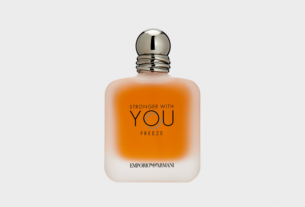 Фото - Туалетная вода GIORGIO ARMANI Stronger With You Freeze 100 мл парфюмерная вода giorgio armani stronger with you intensely 50 мл