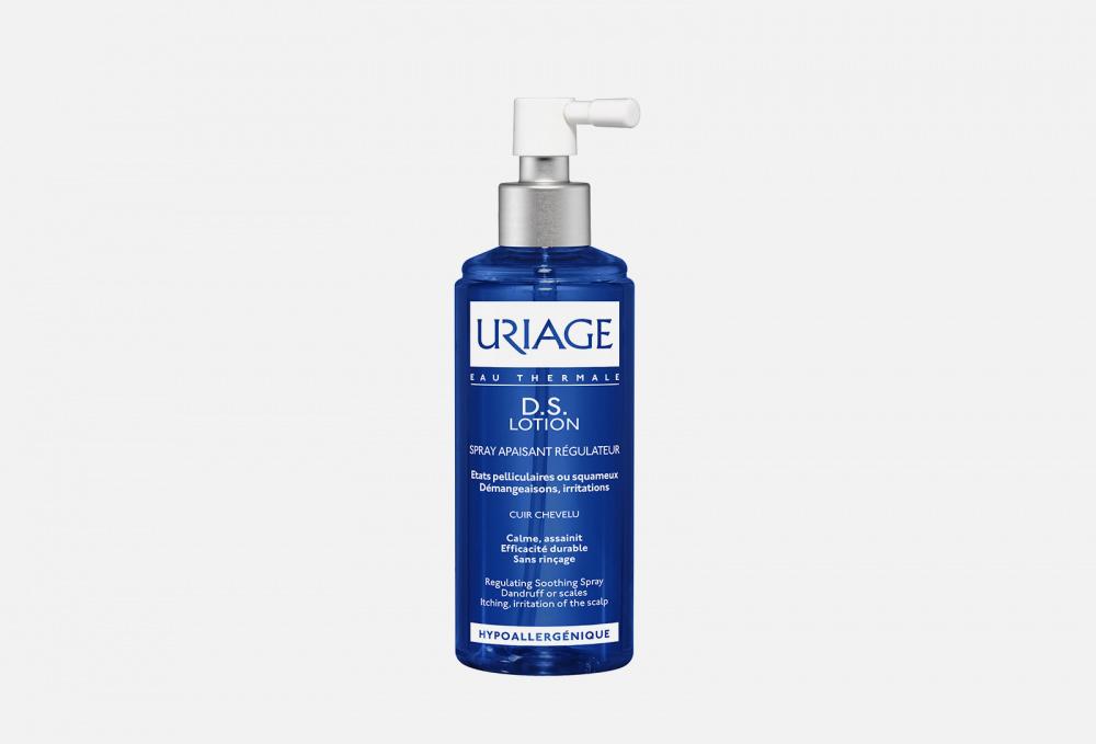 D.s. lotion regulating repairing spray URIAGE Успокаивающий Лосьон Для Кожи Головы 100 мл