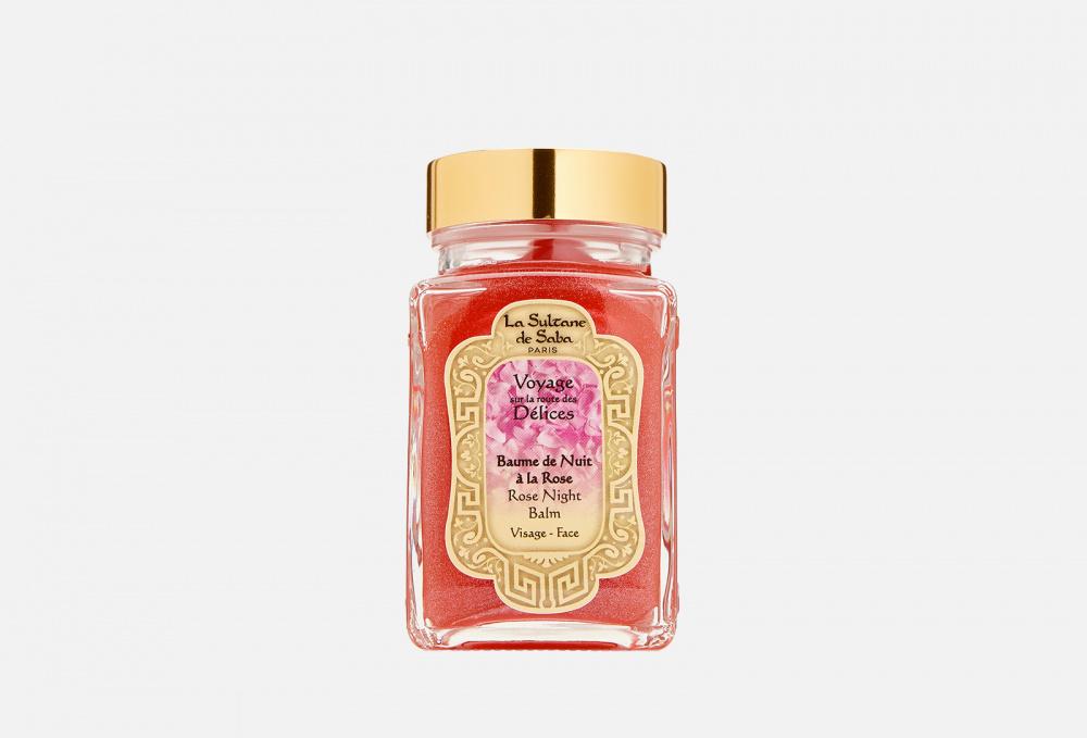 Ультра-питательный ночной бальзам для лица с розой LA SULTANE DE SABA Baume De Nuit À La Rose 100 мл мыло мягкое la sultane de saba authentic black soap eucalyptus 300 мл