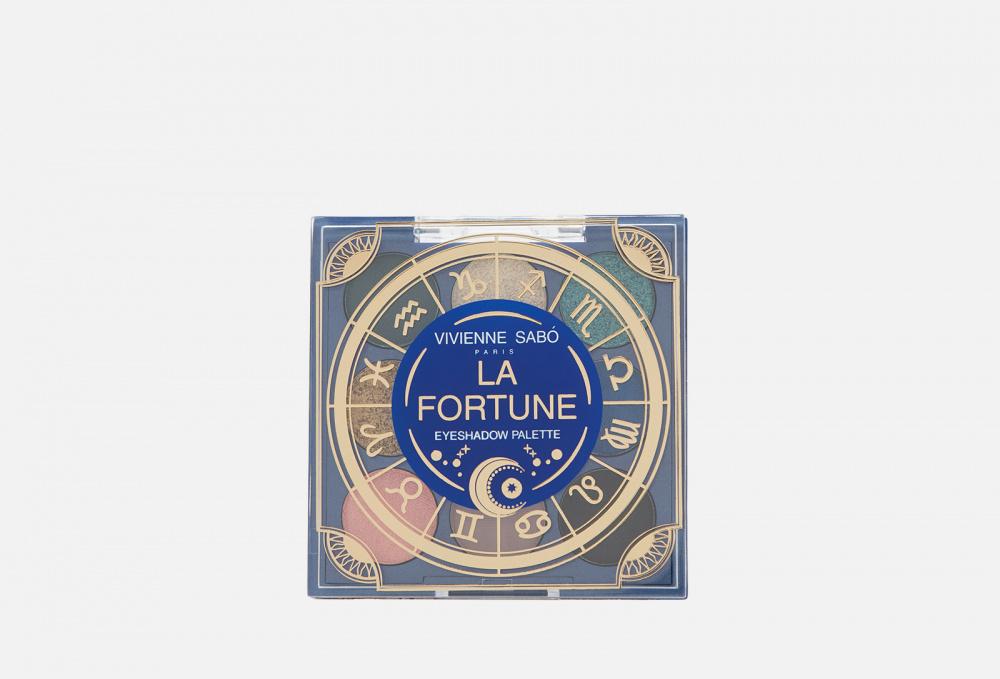 oliver la blairie jupiter en bonne fortune Палетка теней VIVIENNE SABO Zodiaque La Fortune 7 мл