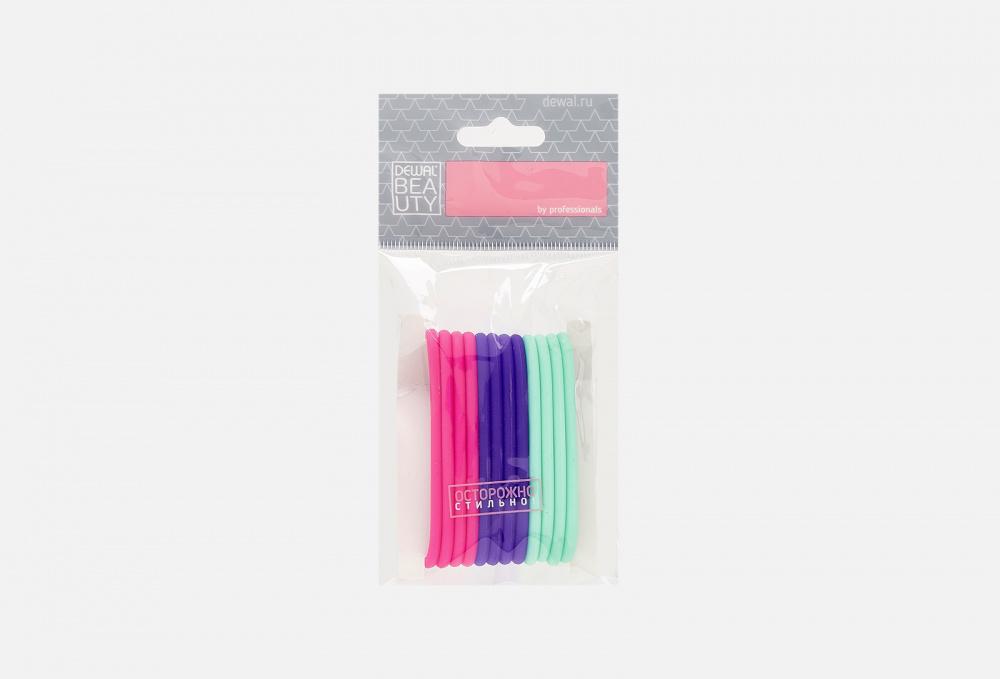 Резинки для волос DEWAL BEAUTY Силиконовые Dbr2 12 мл