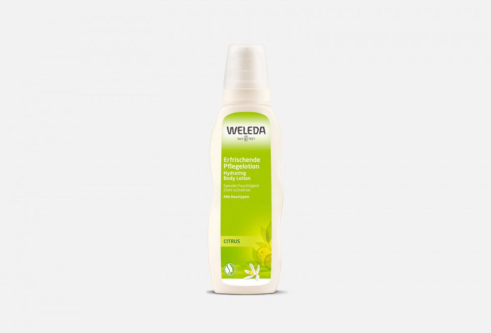 Фото - Молочко для тела цитрусовое освежающее WELEDA Citrus Hydrating 200 мл weleda feigenkaktus hydrating eye gel