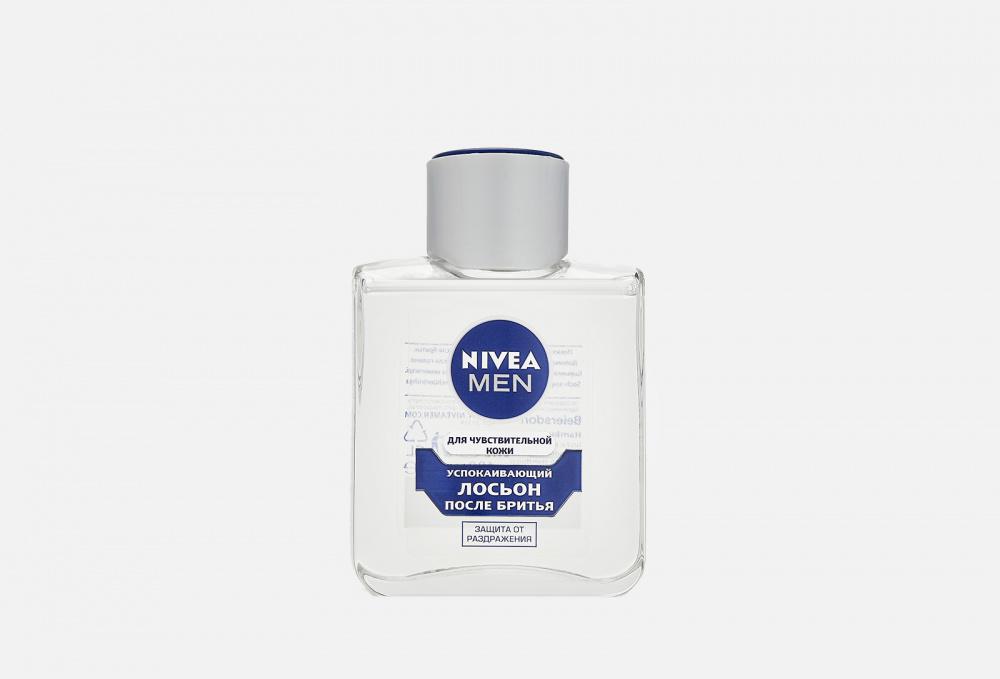 Лосьон после бритья успокаивающий для чувствительной кожи, без содержания спирта NIVEA Men 100 мл бальзам после бритья охлаждающий для чувствительной кожи без содержания спирта nivea men 100 мл