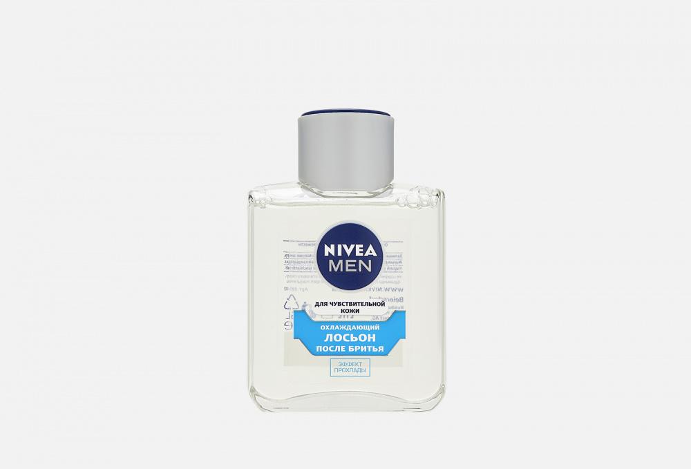 Лосьон после бритья охлаждающий для чувствительной кожи, без содержания спирта. NIVEA Men 100 мл бальзам после бритья охлаждающий для чувствительной кожи без содержания спирта nivea men 100 мл