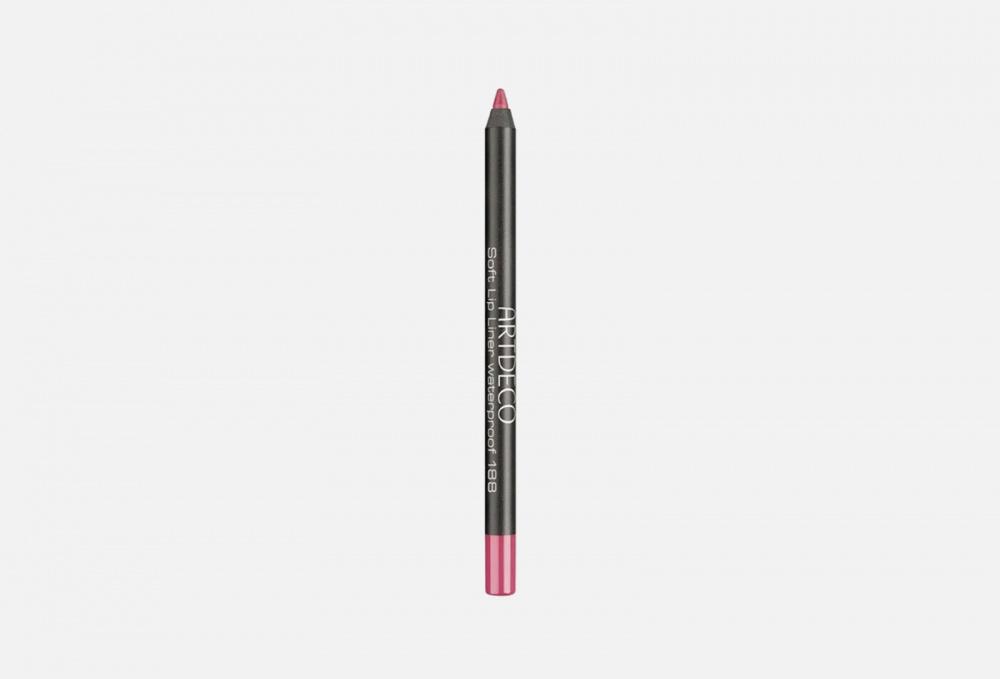 карандаш для губ водостойкий soft lip liner waterproof 1 2г 108 fireball Водостойкий карандаш для губ ARTDECO Soft Lip Liner Waterproof 1.2 мл