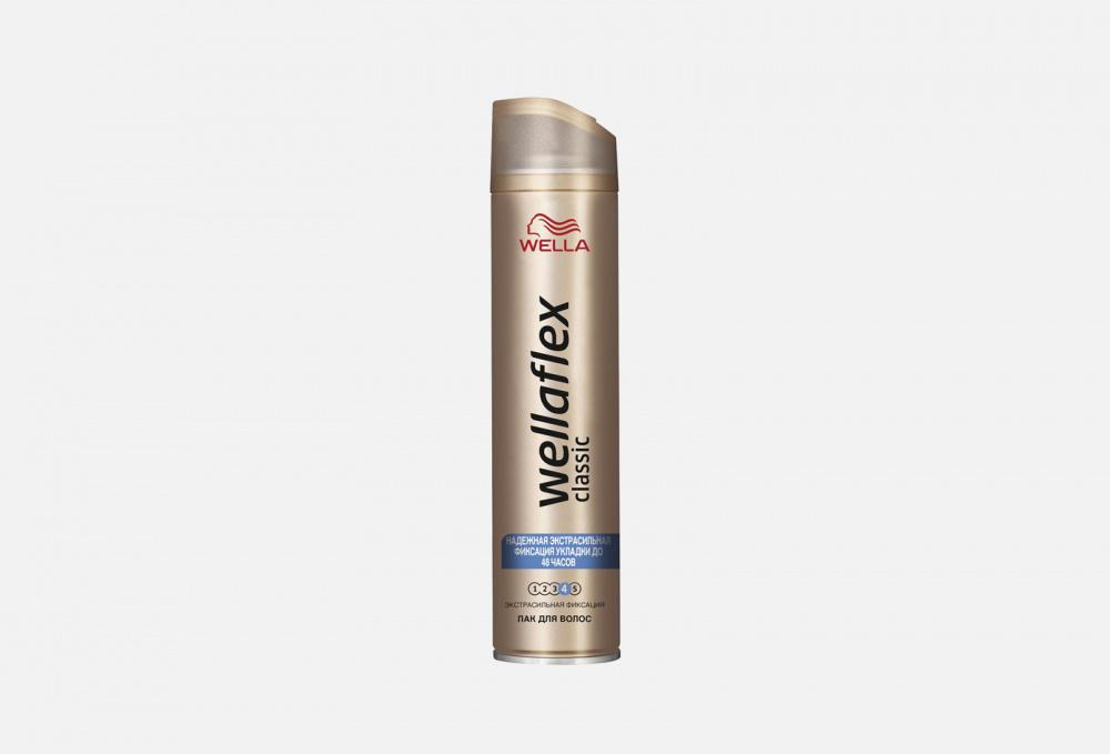 Лак для волос WELLA Wellaflex Экстрасильная Фиксация Classic 250 мл wella лак для волос wellaflex для чувствительной кожи головы сильная фиксация 250 мл