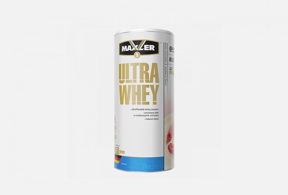 Протеин со вкусом малины и белого шоколада MAXLER Ultra Whey 450 мл протеин со вкусом насыщенного шоколада maxler 100% golden whey 2270 мл