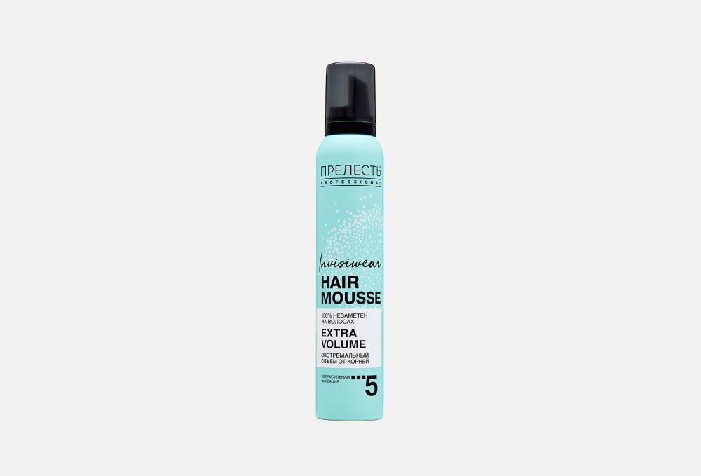 Мусс для волос ПРЕЛЕСТЬ PROFESSIONAL INVISIWEAR Hair Mousse 200 мл
