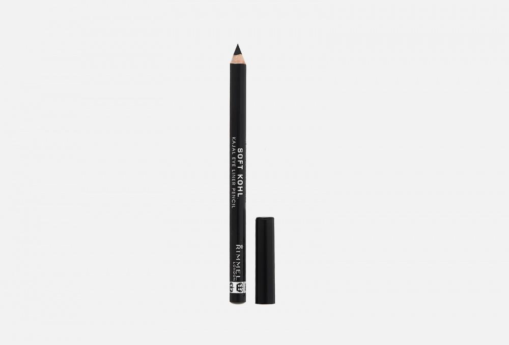 Фото - Карандаш для глаз мягкий RIMMEL Soft Kohl Kajal 1.2 мл карандаш для глаз автоматический rimmel exaggerate 0 28 мл