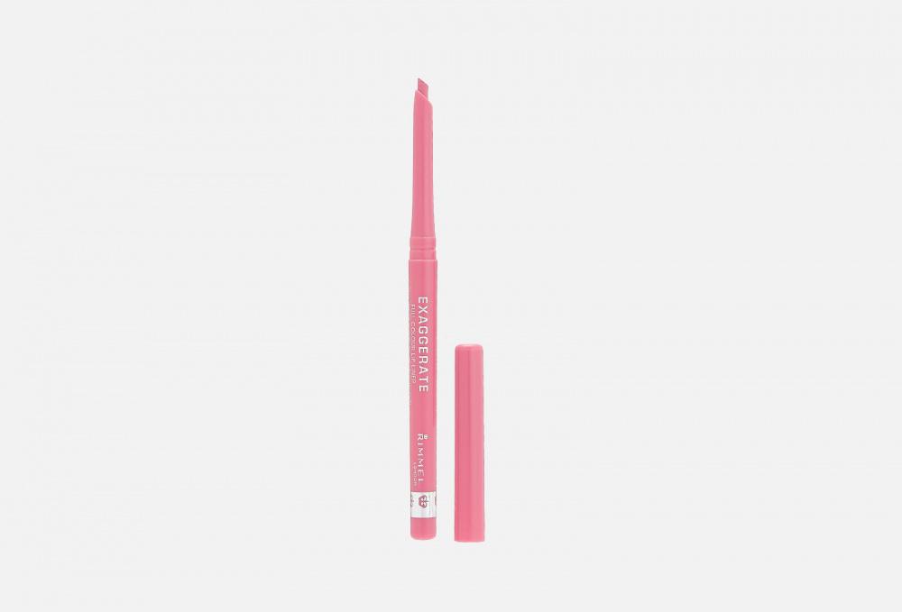 Фото - Карандаш для губ RIMMEL Exaggerate 0.25 мл карандаш для глаз автоматический rimmel exaggerate 0 28 мл