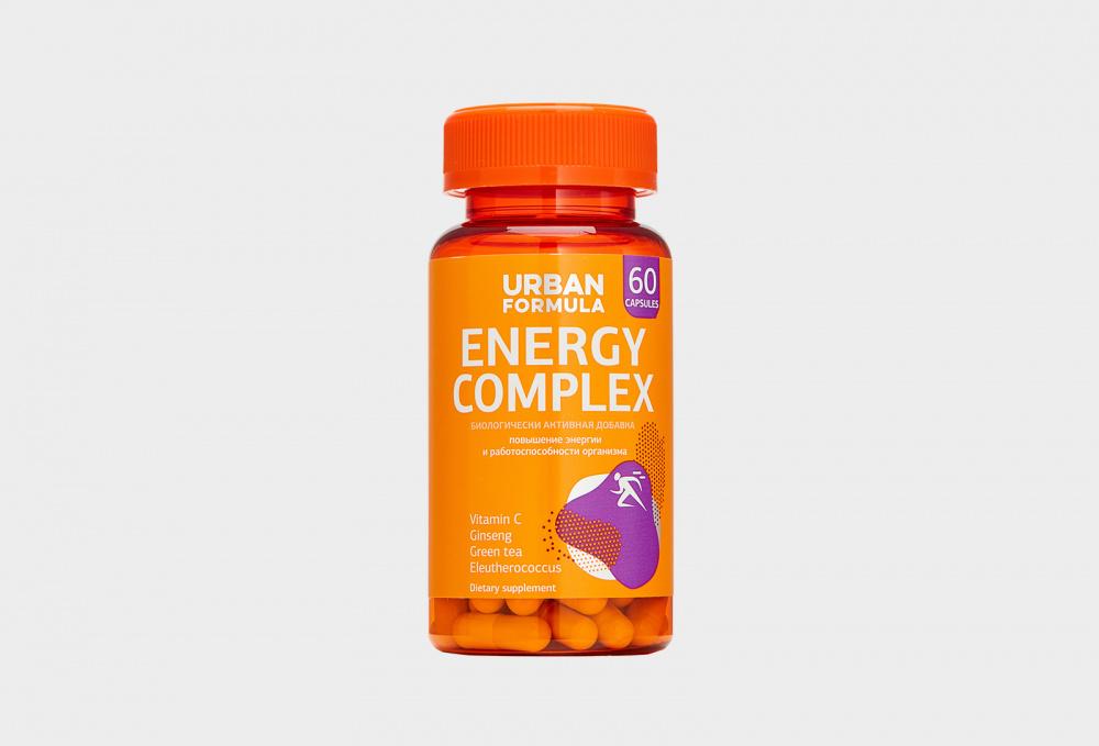 Фото - Комплекс для энергии с женьшенем URBAN FORMULA Energy Complex 60 мл биологически активный комплекс advanced nutrition programme skin vitality 60 мл