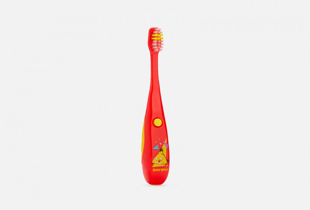 Музыкальная зубная щетка 3+ в ассортименте LONGA VITA Angry Birds 1 мл детская зубная щетка 5 longa vita angry birds 1 мл