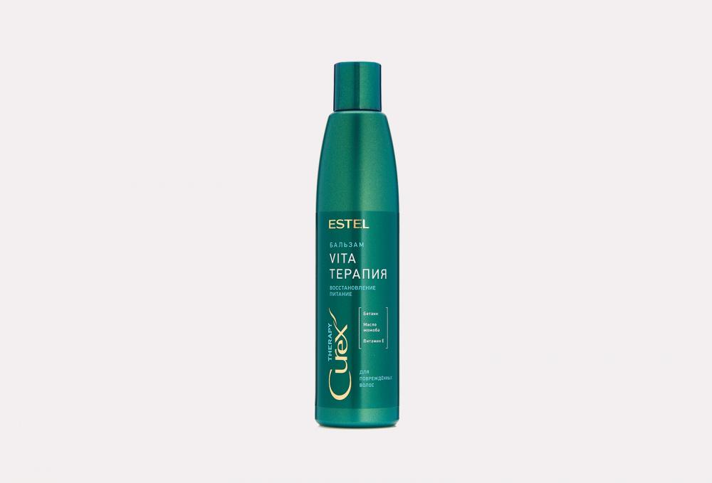 Фото - Крем-бальзам для сухих, ослабленных и поврежденных волос ESTEL Curex Therapy 250 мл витэкс fruit therapy маска 3 в 1 восстанавливающая для сухих и поврежденных волос папайя масло амлы 450 мл
