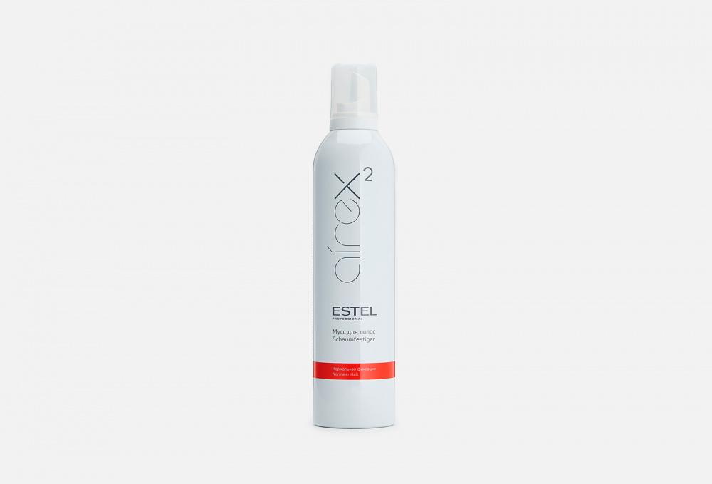 Фото - Мусс для волос нормальной фиксации ESTEL PROFESSIONAL Airex 400 мл estel мусс для волос сильной фиксации 400 мл estel airex