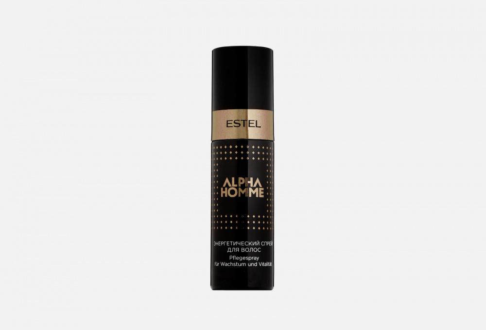 Спрей для волос энергетический ESTEL PROFESSIONAL Alpha Homme Spray 100 мл недорого