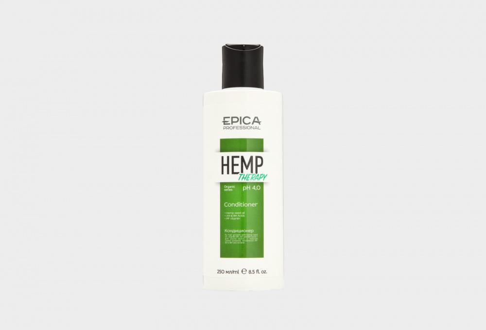 Кондиционер для стимулирования роста волос EPICA PROFESSIONAL Conditioner For Hair Growth Hemp Therapy Organic 250 мл