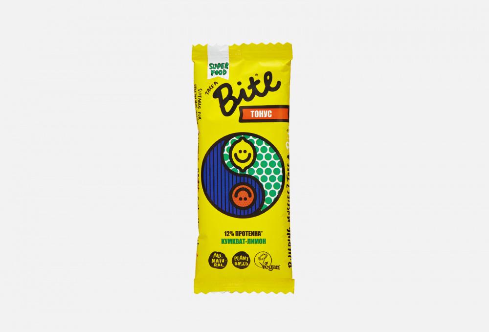 Батончик Фруктово-ореховый TAKE A BITE Кумкват-лимон 1 мл батончик take a bite фруктово ореховый мята 45 г