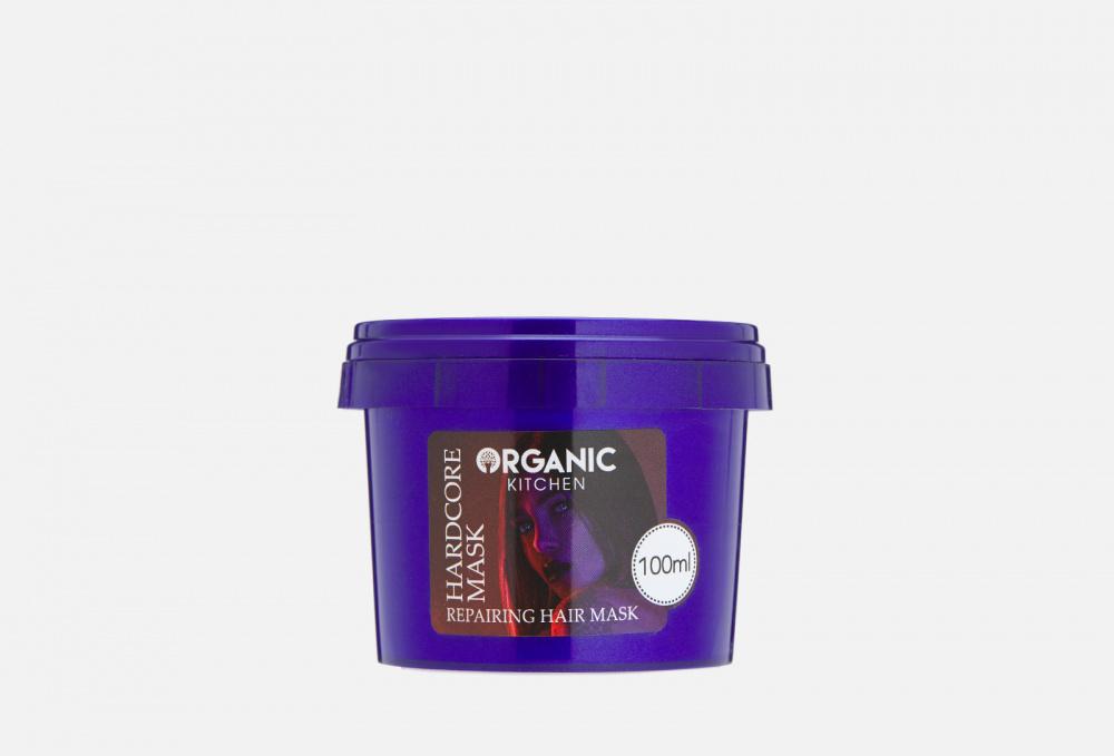 Фото - Маска-уход для поврежденных волос восстанавливающая от @taha_safari ORGANIC KITCHEN Hardcore Mask 100 мл витэкс fruit therapy маска 3 в 1 восстанавливающая для сухих и поврежденных волос папайя масло амлы 450 мл
