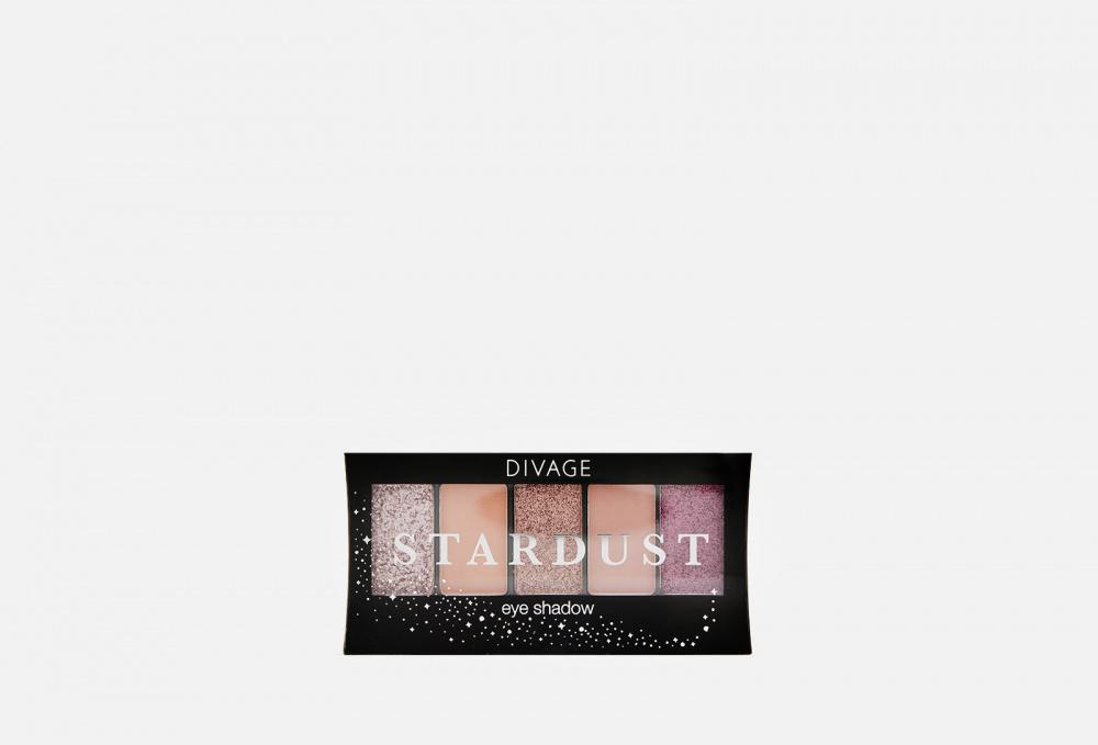 Палетка теней для век DIVAGE Palettes Eye Shadow, Stardust 7 мл sleek makeup quattro eye shadow medussa s kiss палетка теней тон 331