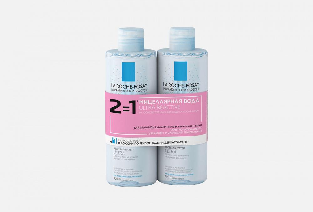 Фото - Набор очищение LA ROCHE-POSAY Ultra Reactive la roche posay мицеллярная вода для чувствительной и склонной к аллергии кожи лица и глаз ultra reactive 200 мл