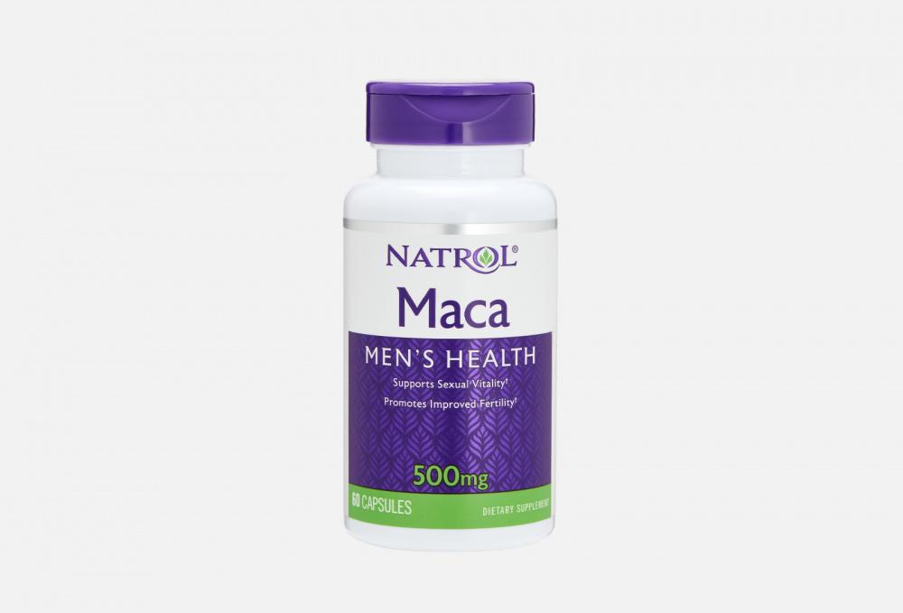 Капсулы NATROL Maca Extract 500mg 60 мл