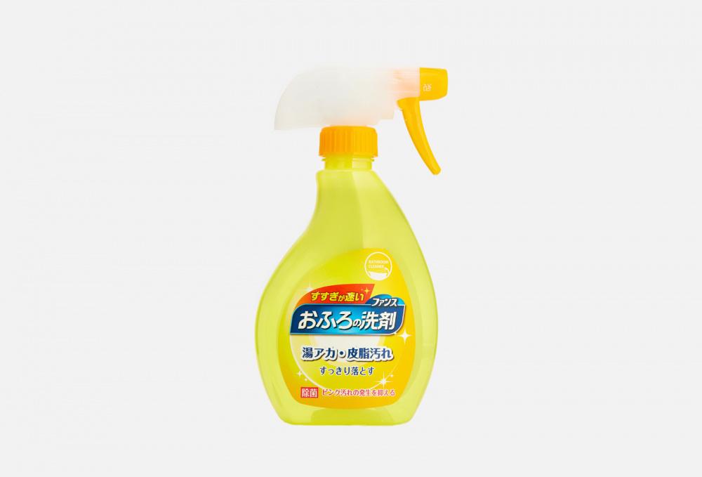 Фото - Чистящая спрей-пенка для ванной комнаты с ароматом апельсина и мяты FUNS Spray Foam Orange And Mint 380 мл funs спрей для ванной комнаты с ароматом апельсина и мяты 0 38 л