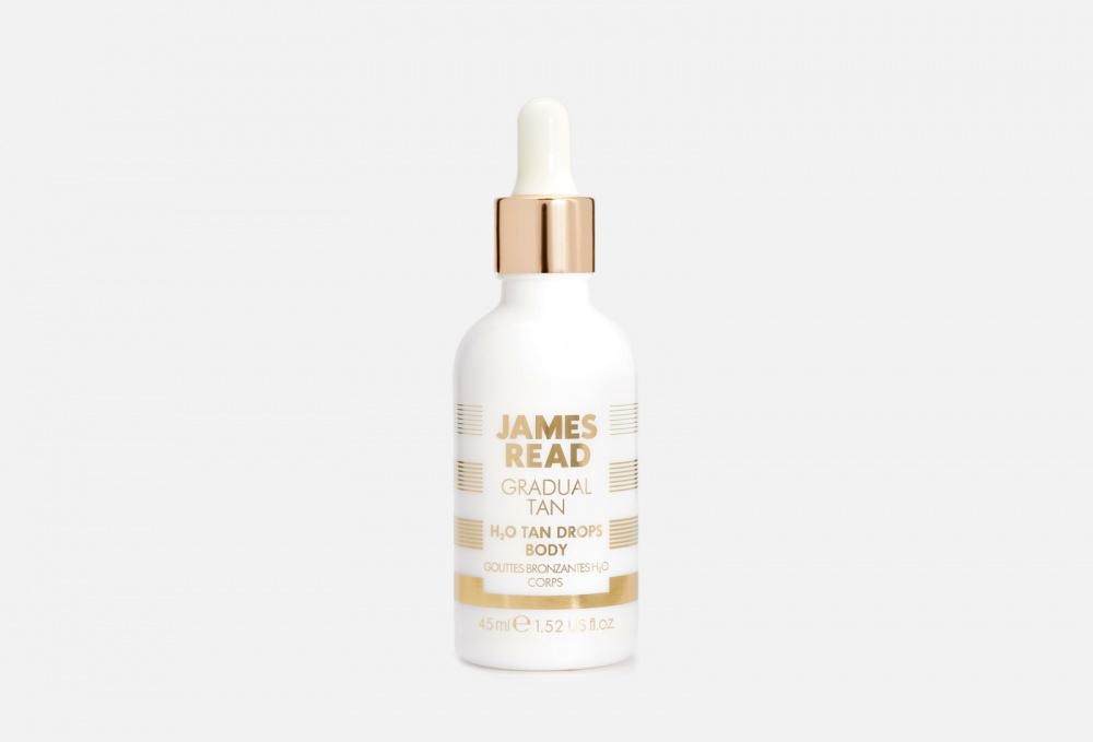 Фото - Капли-концентрат для тела JAMES READ H2o Tan Drops Body 45 мл масло для автозагара james read self tan coconut dry tan body 100 мл
