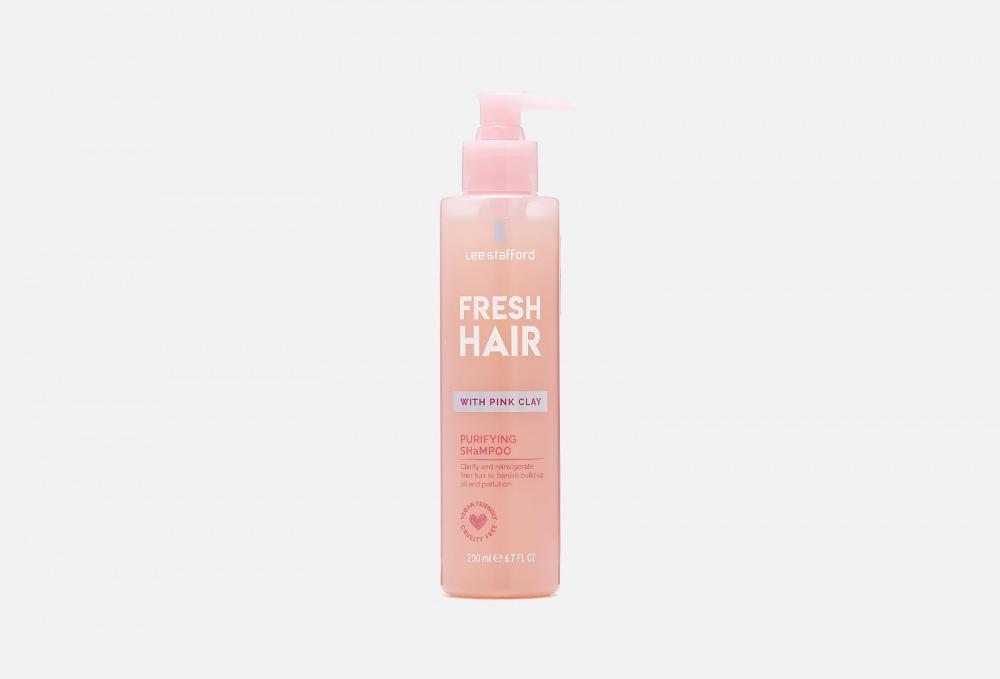 lee stafford fresh hair shampoo Шампунь для волос с розовой глиной для тщательного очищения LEE STAFFORD Fresh Hair Shampoo 200 мл