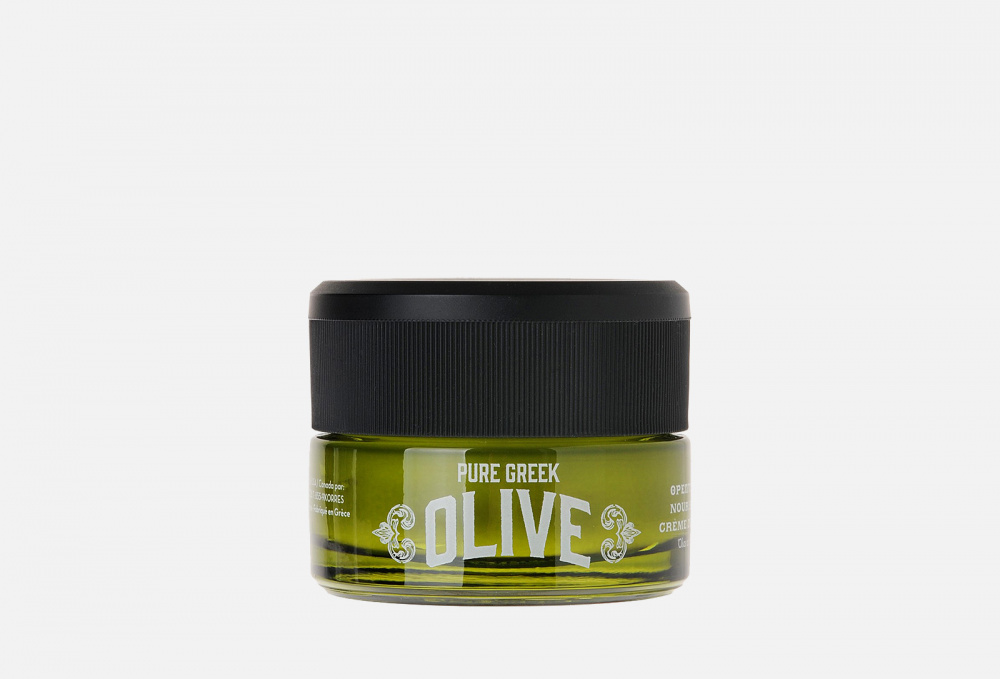 Ночной питательный крем для лица, волос и тела KORRES Pure Greek Olive 40 мл недорого