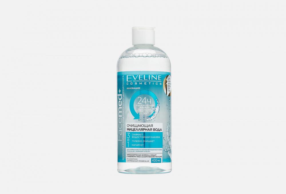 Купить Очищающая мицеллярная вода 3в1 для нормальной и комбинированной кожи, EVELINE