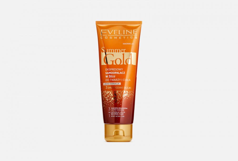 Купить Мгновенный гель-автозагар для лица и тела 3в1 для светлой кожи, EVELINE