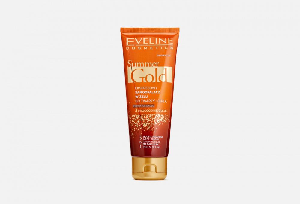 Купить Мгновенный гель-автозагар для лица и тела 3в1 для смуглой кожи, EVELINE