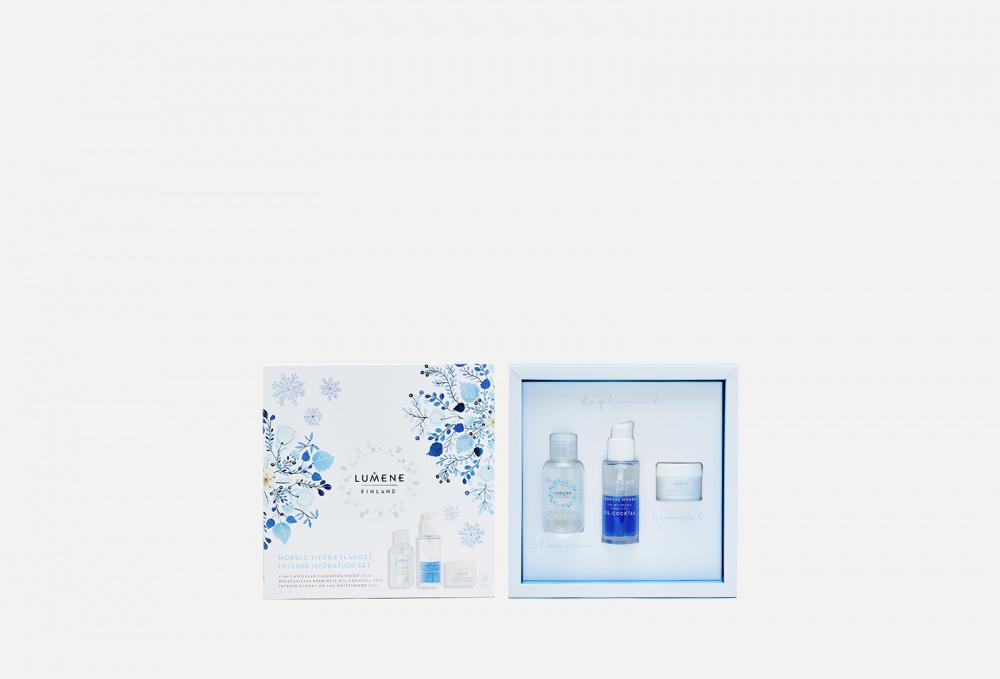 Подарочный набор для глубокого увлажнения кожи LUMENE Nordic Hydra [lähde] Intense Hydration Set недорого