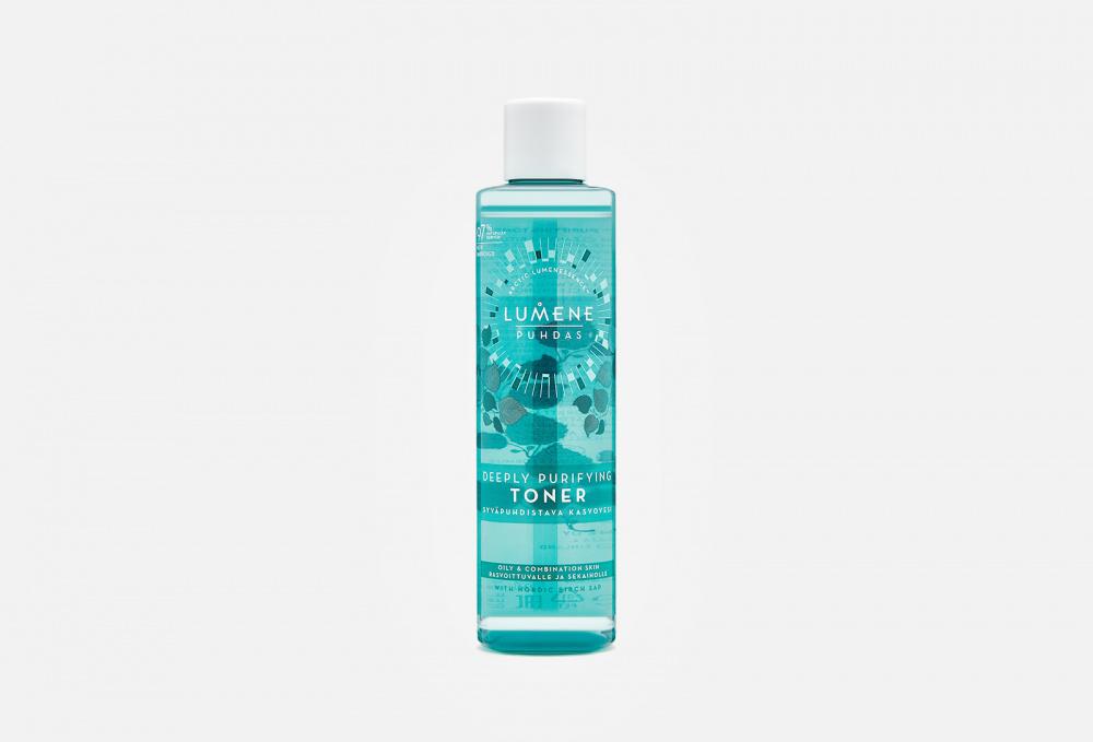Тоник для глубокого очищения кожи LUMENE Puhdas Deeply Purifying Toner 200 мл lumene puhdas deeply purifying birch scrub