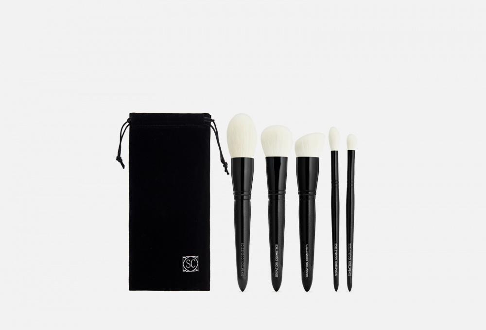 Фото - Люксовый набор для макияжа SINSATION COSMETICS Sinsation Luxury Brush Set 5 мл кисть для нанесения макияжа 3ina the kabuki brush 1 мл