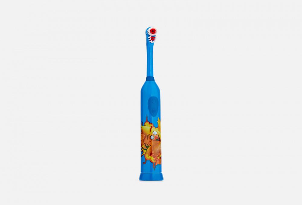 Электрическая зубная щетка для детей 3+ LONGA VITA Angry Birds 1 мл детская зубная щетка 5 longa vita angry birds 1 мл