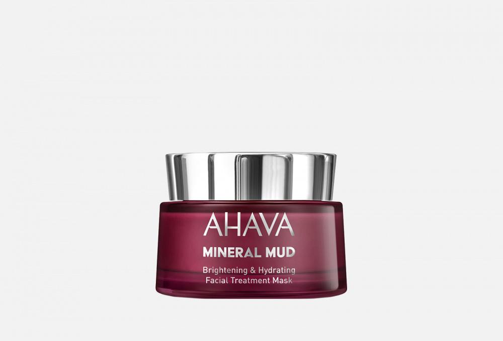 маска для лица 50 мл likato маска для лица 50 мл Маска для лица увлажняющая, придающая сияние AHAVA Mineral Mud 50 мл