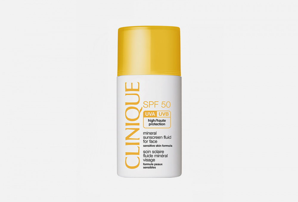 Mineral Sunscreen Fluid For Face SPF50